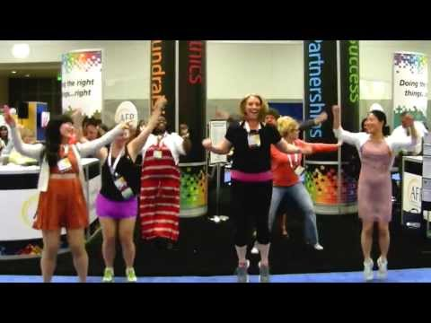 Zumba Flashmob at AFP International Conference San Diego 2013