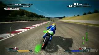 MotoGP 09/10 PlayStation 3 Gameplay - Career