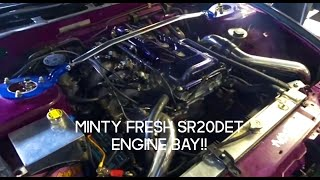 S13 SILVIA ENGINE BAY CLEAN UP!!!!