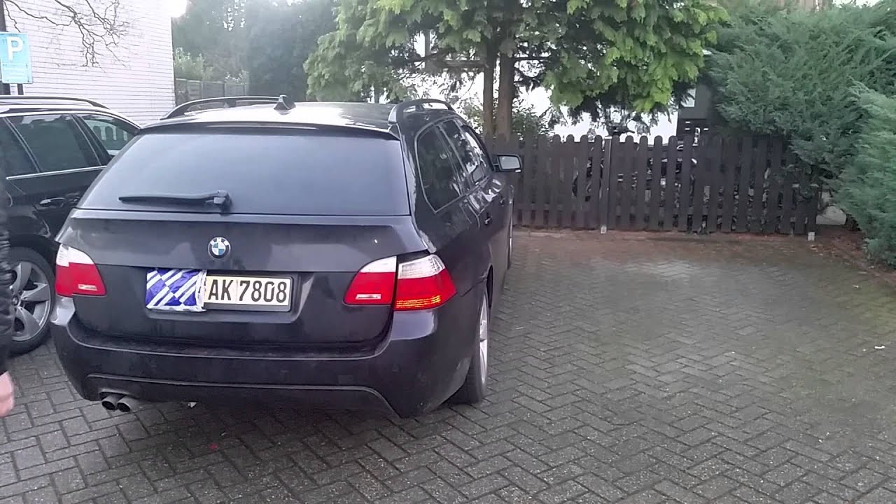 bmw e61 heckklappe per fu bet tigen youtube. Black Bedroom Furniture Sets. Home Design Ideas