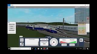 Roblox Terminal railways | huge TGV train crash