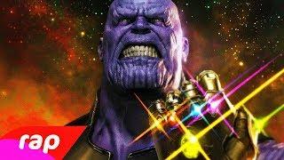 Rap do Thanos (Vingadores) - O THANOS ESTÁ VINDO | NERD HITS