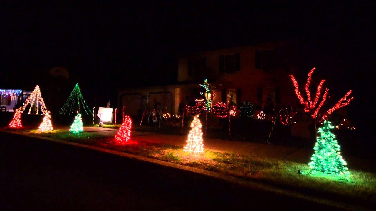 2015 christmas lights acdc thunderstruck - Dc Christmas Lights