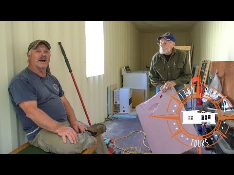 WWII Veterans Custom Alaskan Shipping Container Tiny House Build ~ Part 1
