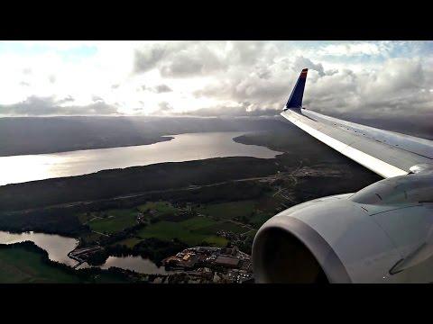 SunExpress | B738 | Izmir Adnan Menderes - Oslo Gardermoen | FULL FLIGHT