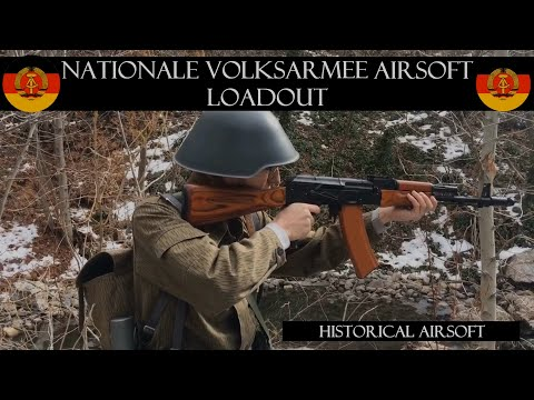 East German Army Airsoft Loadout