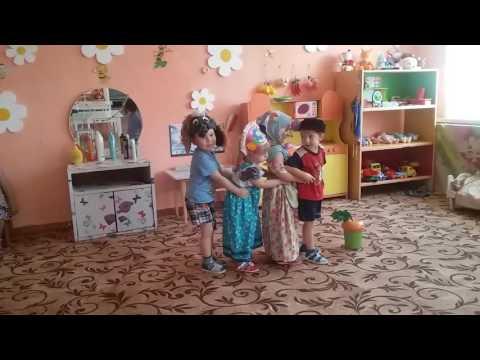 Инсценировка сказки «Репка» 2 младшая группа