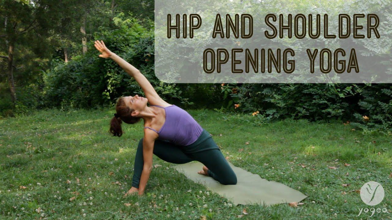 Hip Shoulder Opening Yoga Yome
