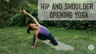 Video Hip & Shoulder Opening Yoga Routine: Reinvent Yourself (open level) download MP3, 3GP, MP4, WEBM, AVI, FLV Maret 2018