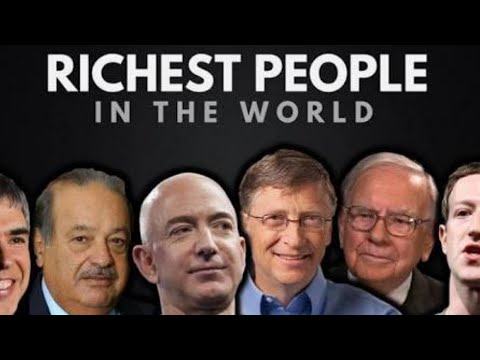 Top 5 Richest people in the world 2018   World's richest people   Richest man in the World