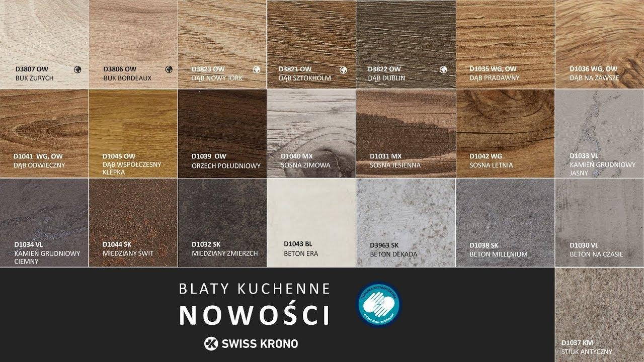 Cudowna Szukasz nowego blatu kuchennego? Prezentujemy nowości od SWISS SP01