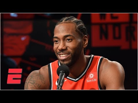 Kawhi Leonard media day press conference (with Kawhi laugh) | NBA Media Day | ESPN