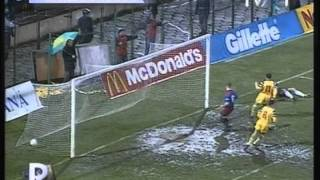 1997 (March 29) Romania 8-Liechtenstein 0 (World Cup Qualfiier)