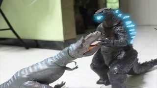 godzilla vs dinosaurs stop motion