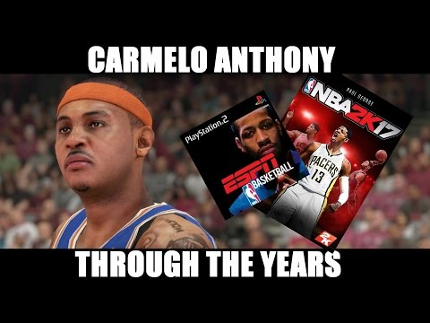 CARMELO ANTHONY THROUGH THE YEARS - NBA 2K4 - NBA 2K17