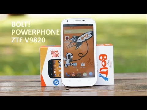 Review Powerphone Bolt ZTE V9820 Indonesia