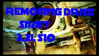 Video how to remove rear driveshaft on 99 chevy s10 2.2l download MP3, 3GP, MP4, WEBM, AVI, FLV Agustus 2018