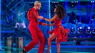 Jeremy Vine & Karen Clifton Salsa to