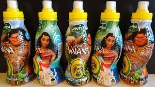 Disney Moana - Vaiana Movie 12 Surprise Eggs in Drinks 3D Toys Collection