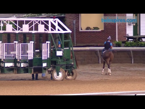 Kentucky Derby and Oaks contender training