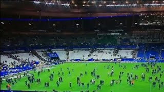 Eyewitness details attack at France soccer arena