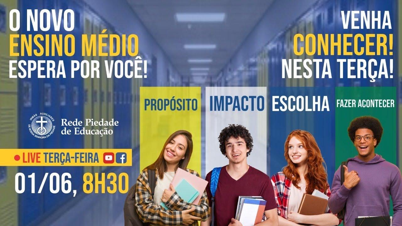 O novo espera por você! - Live sobre o Novo Ensino Médio