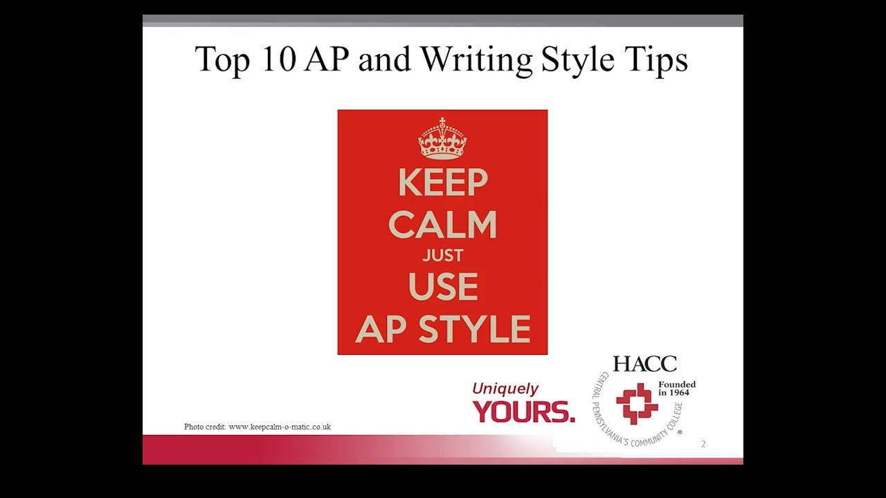 Mastering AP Style