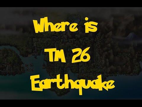 Where Is: TM 26 - Earthquake (Pokemon Heart Gold/Soul Silver)