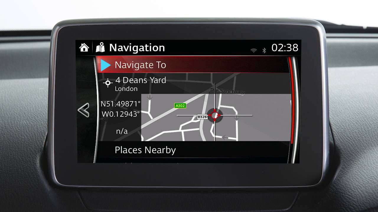 Mazda Navigation System Youtube