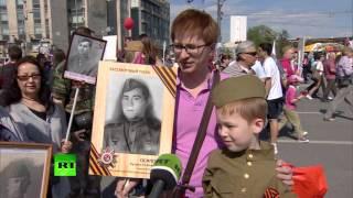 жители столицы рассказали об участии в акции бессмертный полк