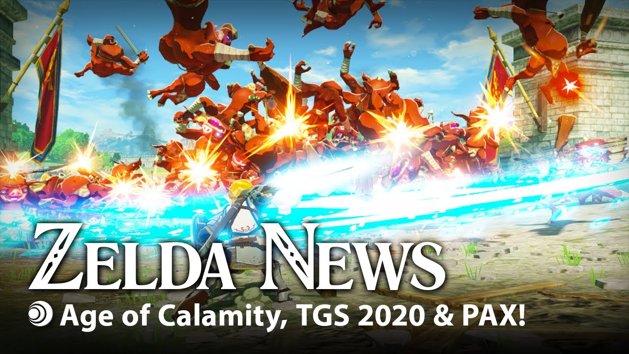 Zelda News I Hyrule Warriors Age Of Calamity At Tokyo Games Show 2020 Youtube