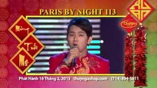 Paris By Night 113 Mừng Tuổi Mẹ