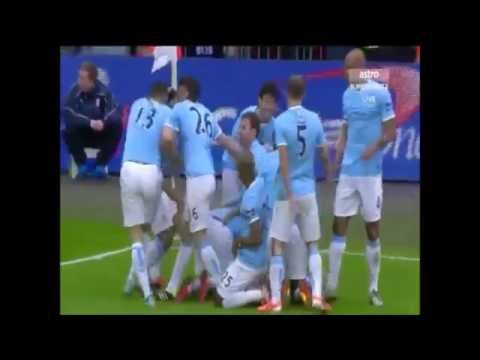 League Cup Final 2014 - Yaya Toure & Samir Nasri goals