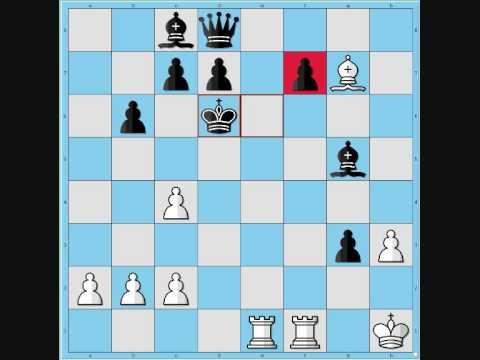 Best 19th century chess games #9 - Steinitz vs. Lasker (1896) 0-1
