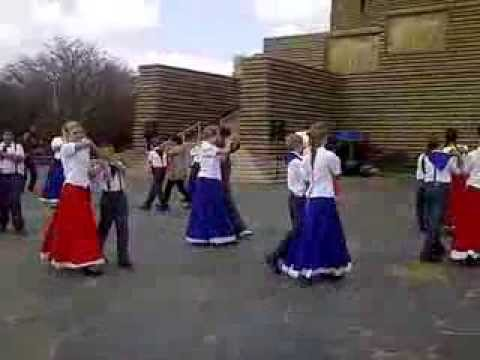 Traditional Afrikaans Dance At The Voortrekker Monument