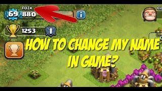 CLASH OF CLANS | Como mudar meu nome no jogo?