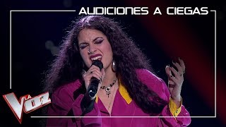 Lola Jiménez canta 'Nostalgias' | Audiciones a ciegas | La Voz Antena 3
