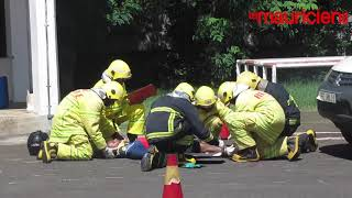 Simulation : un « road accident » exécuté par les pompiers de Coromandel