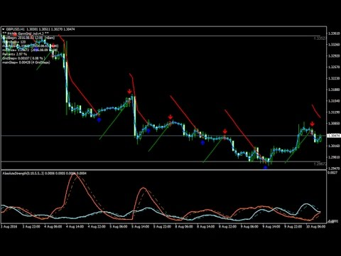 Absolute Strength With Pama Gann Forex Scalping Strategy How To