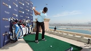 DP World Tour Championship Atlantis Challenge - European Tour stars from the 22nd floor