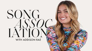 """Addison Rae Sings Justin Bieber, Hailee Steinfeld & """"Obsessed"""" in a Game of Song Association"""