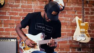 Custom T style guitar Demo