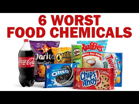 What You're Really Eating! 6 Worst Food Chemicals: Health, Safety, Nutrition, Detox Tips