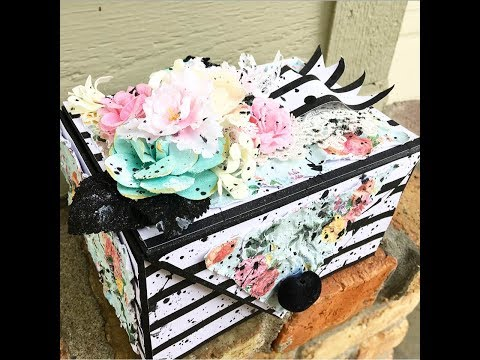 Photo Box Tutorial Keepsake Box Easy