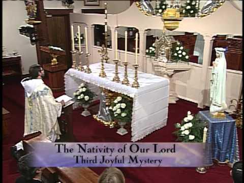First Saturday Devotion - 2013-05-04 - Fr. Leonard Mary MFVA