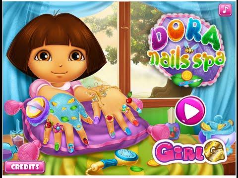 Dora The Explorer Makeover Games - Dora Nail Polish Art ...