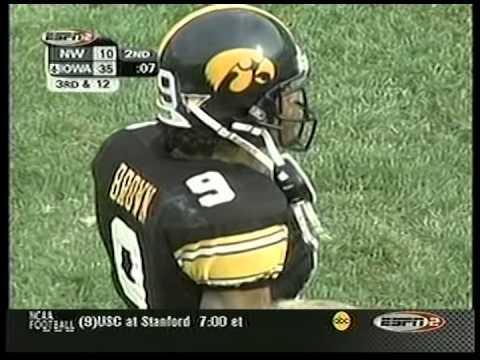 2002 Iowa vs. Northwestern