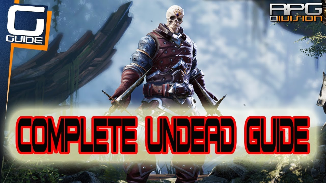 DIVINITY ORIGINAL SIN 2 - Complete Undead Guide (How to build Fane & Party  with Undead)