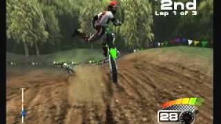 MX 2002 Feat. Ricky Carmichael Playstation 2 PS2 Gameplay