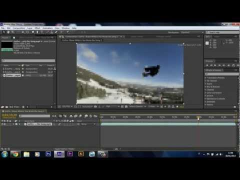 TUTORIAL #2: Best TWIXTOR Settings - GoPro + After Effects